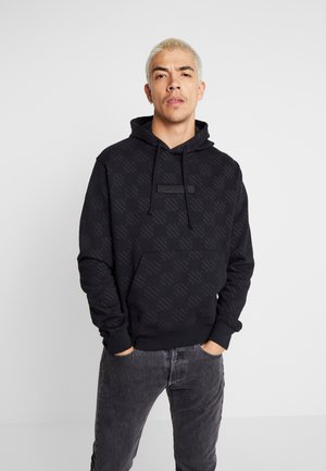 HOODIE TRIPLE  - Sweat à capuche - black