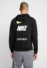 Nike Sportswear - CLUB HOODIE - Sweat à capuche - black - 2
