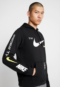 Nike Sportswear - CLUB HOODIE - Sweat à capuche - black - 0