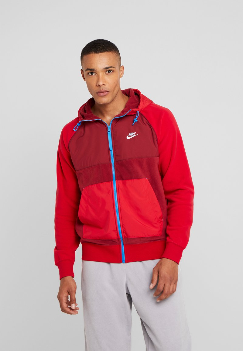 Nike Sportswear - HOODIE WINTER - Fleece jacket - red