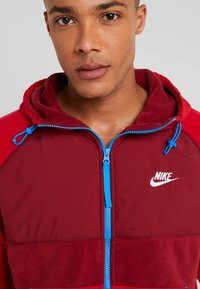 Nike Sportswear - HOODIE WINTER - Fleece jacket - red - 4