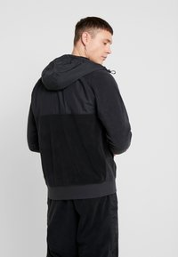 Nike Sportswear - HOODIE WINTER - Fleece jacket - black/off noir/white - 2