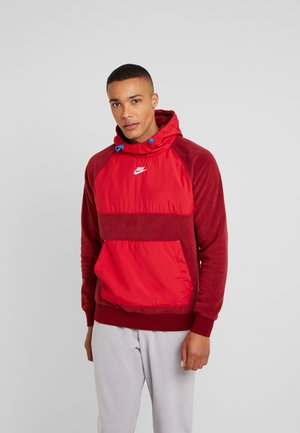 HOODIE WINTER - Hoodie - gym red/team red/white