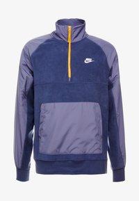 Nike Sportswear - WINTER - Fleece trui - midnight navy/sanded purple/kumquat/white - 3