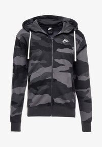 Nike Sportswear - CLUB HOODIE CAMO - Hettejakke - dark grey/anthracite/white - 4