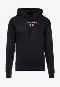 Nike Sportswear - HOODIE - Bluza z kapturem - black - 4