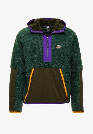 HOODIE - Bluza z kapturem - galactic jade/sequoia/kumquat
