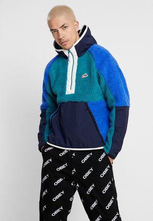 HOODIE - Hoodie - geode teal/obsidian/game royal