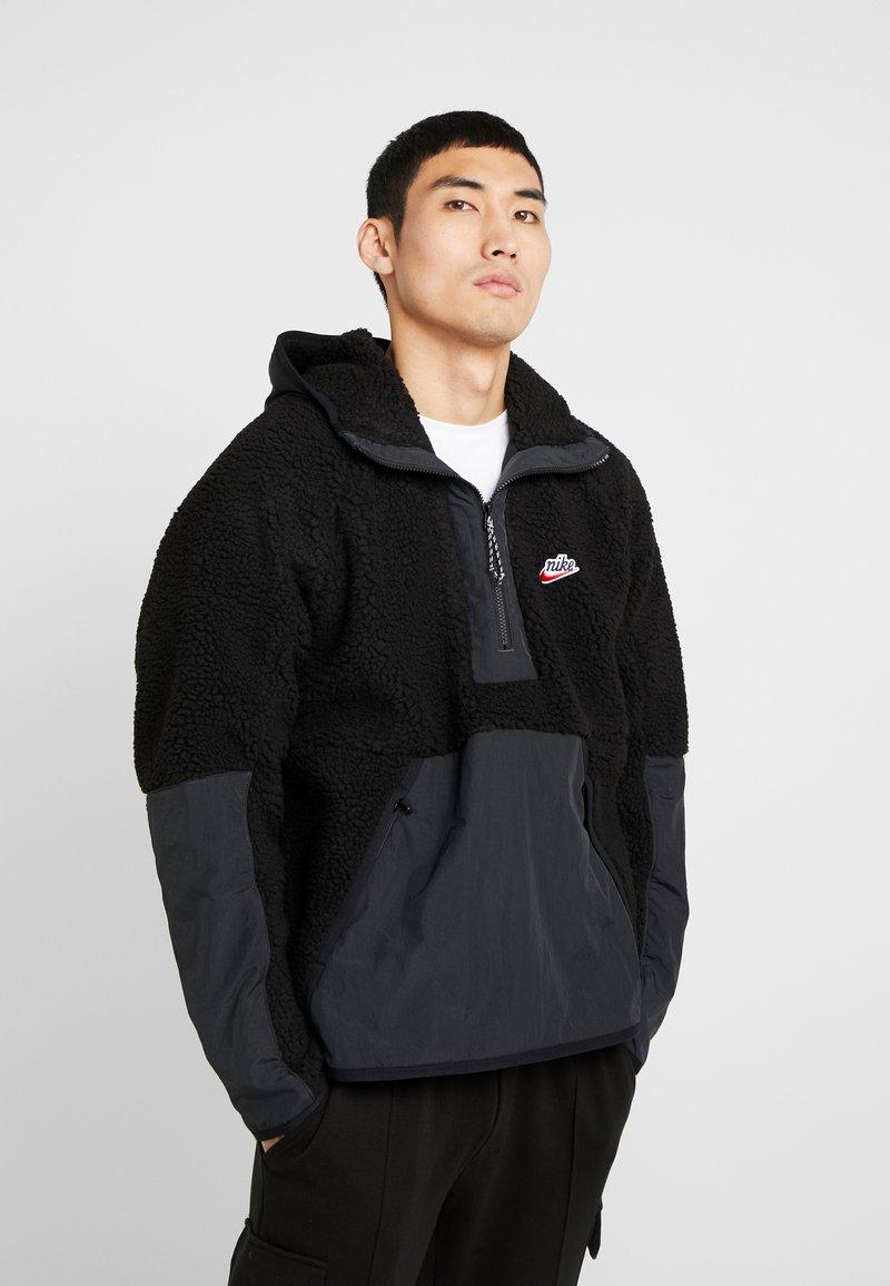 Nike Sportswear - HOODIE - Hoodie - black/off noir