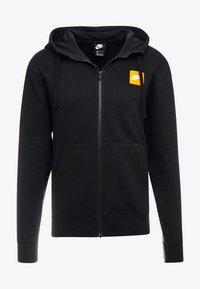 Nike Sportswear - HOODIE - Hoodie met rits - black/white - 4