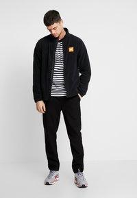Nike Sportswear - Fleecejakke - black/white - 1