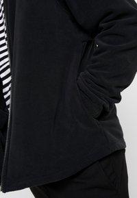 Nike Sportswear - Fleecejakke - black/white - 4
