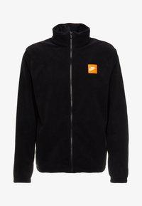 Nike Sportswear - Fleecejakke - black/white - 5