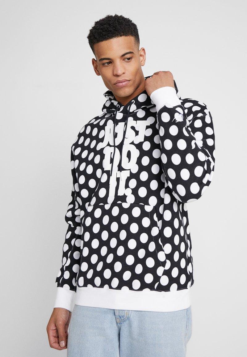 Nike Sportswear - HOODIE - Sweat à capuche - black/white