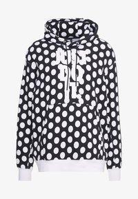 Nike Sportswear - HOODIE - Sweat à capuche - black/white - 4