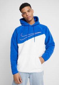Nike Sportswear - HOODIE - Hoodie - game royal/white - 0