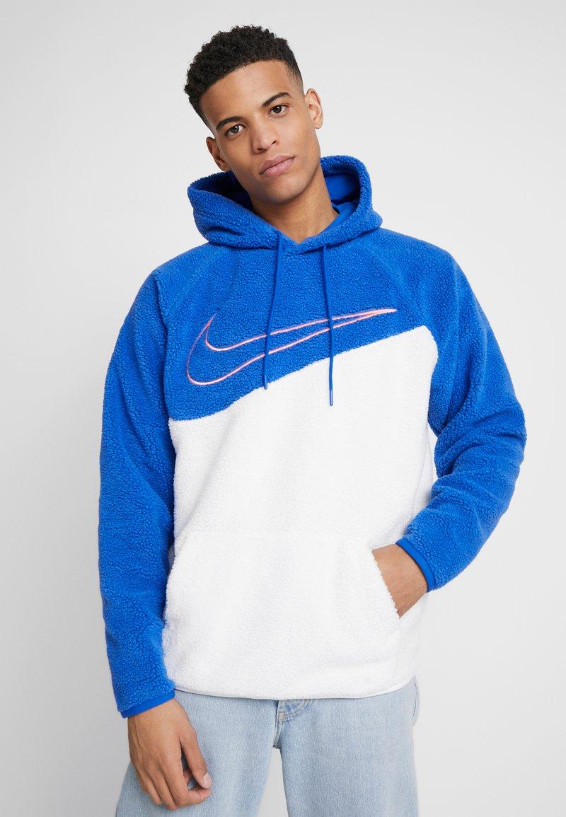Nike Sportswear - HOODIE - Hoodie - game royal/white