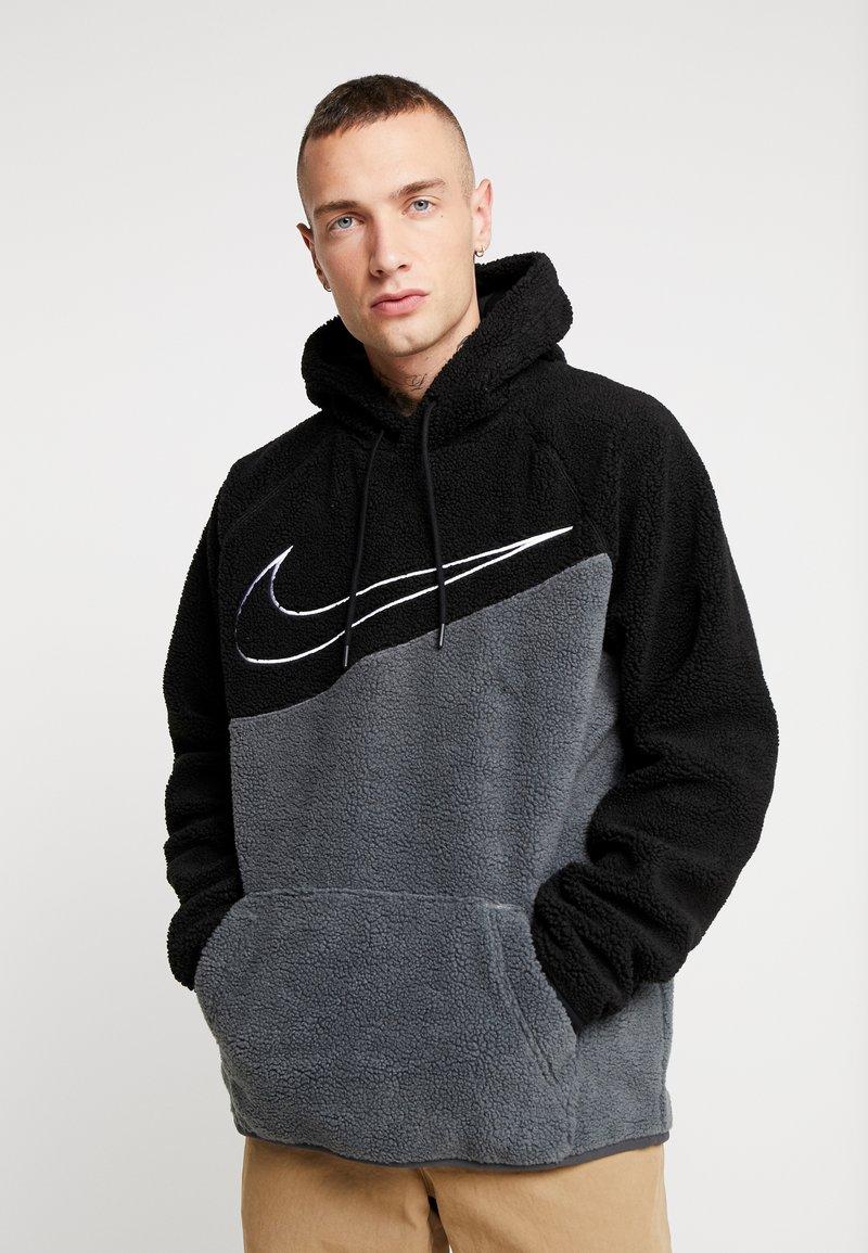 Nike Sportswear - HOODIE - Hoodie - black/anthracite