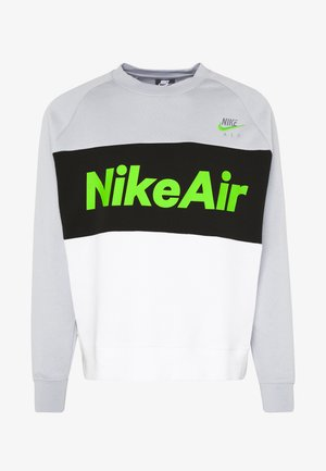 AIR - Collegepaita - smoke grey/white/black/volt