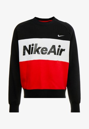 AIR - Sweater - black/university red/white