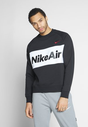 AIR - Sweatshirt - black/white/university red