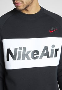 Nike Sportswear - AIR - Sweatshirt - black/white/university red - 5