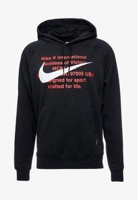 Nike Sportswear - HOODIE - Mikina skapucí - black/white - 4