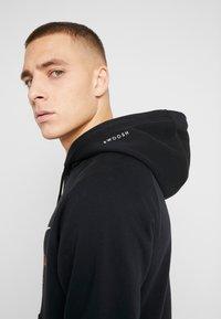 Nike Sportswear - HOODIE - Mikina skapucí - black/white - 3