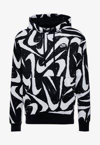 Nike Sportswear - CLUB HOODIE - Bluza z kapturem - black - 4