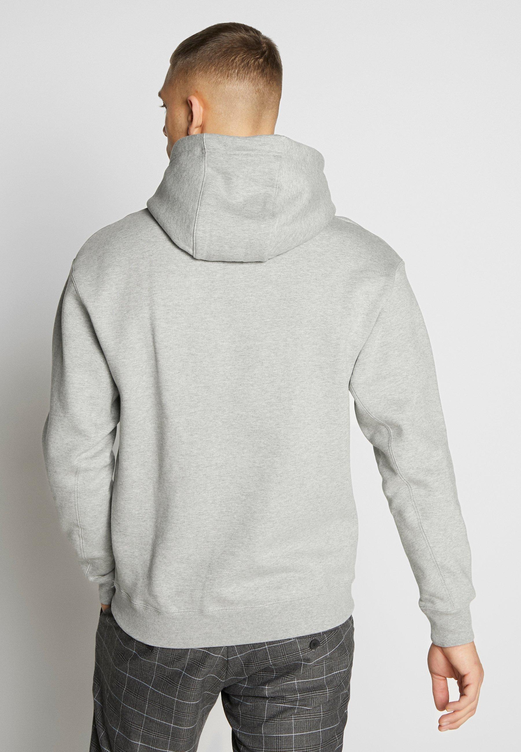 Nike Sportswear HOODIE - Kapuzenpullover - grey heather