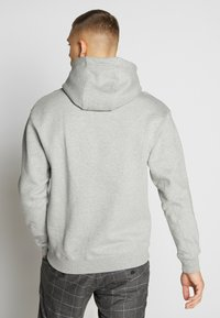 Nike Sportswear - HOODIE - Hoodie - grey heather - 2