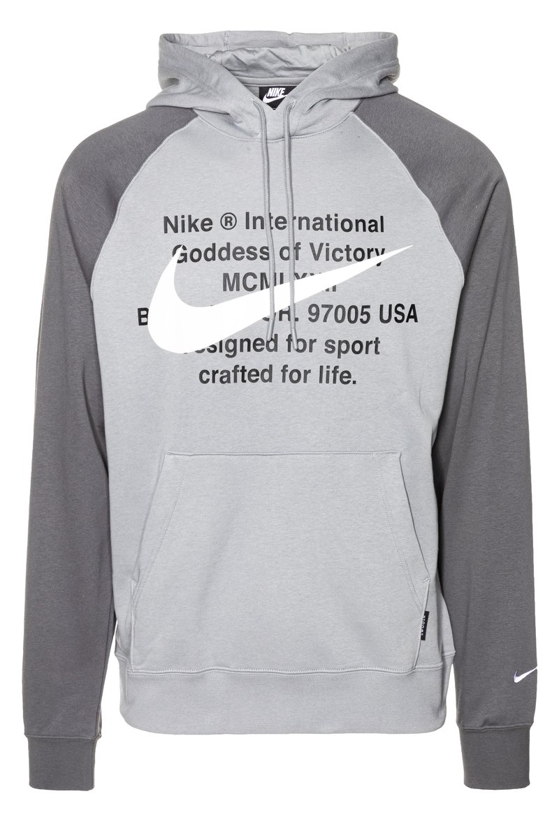 Nike Sportswear - HOODIE - Sweat à capuche - particle grey/iron grey/white
