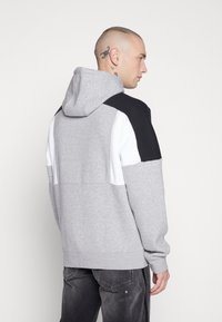 Nike Sportswear - HOODIE - Hættetrøjer - grey heather/white/black - 2