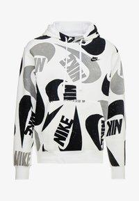 Nike Sportswear - CLUB HOODIE - Bluza z kapturem - black/white - 3