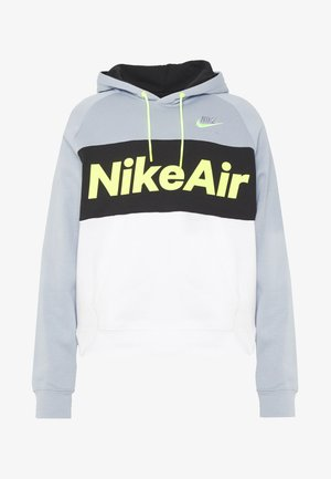 AIR HOODIE - Bluza z kapturem - smoke grey/black/white