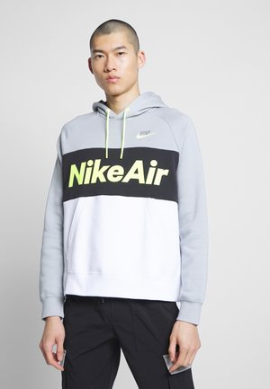 AIR HOODIE - Felpa con cappuccio - smoke grey/black/white
