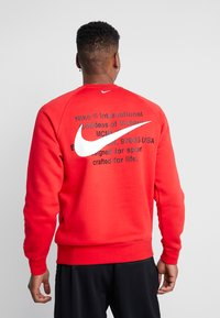 Nike Sportswear - Sweatshirt - university red/white - 2