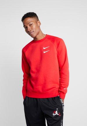 Sweatshirt - university red/white
