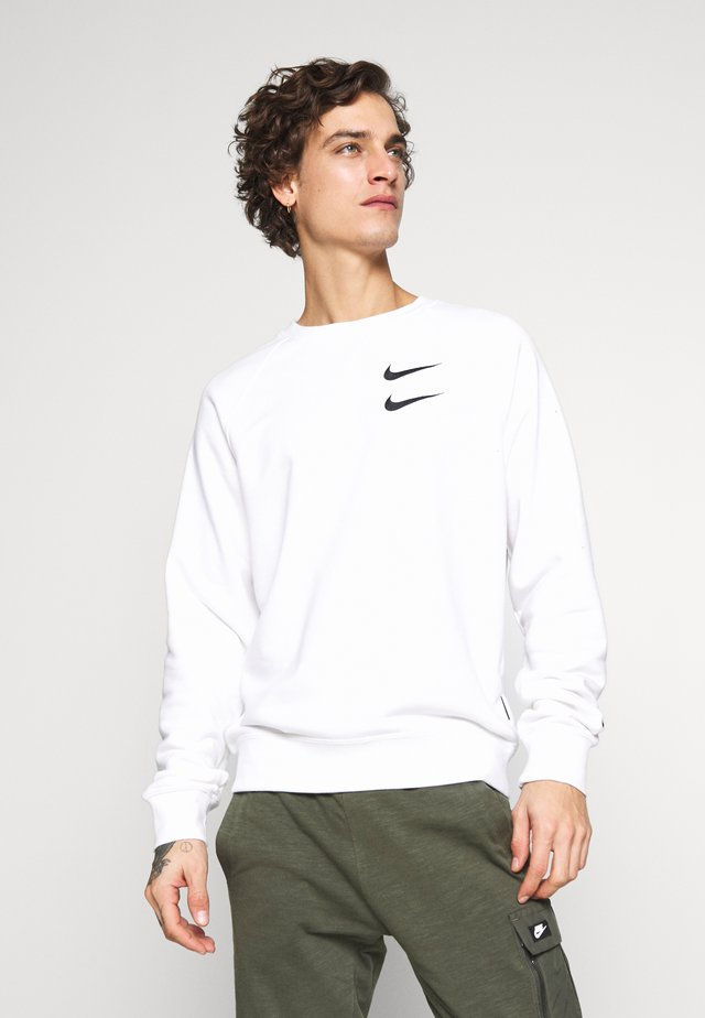 M NSW RW FT - Sweatshirt - white/black