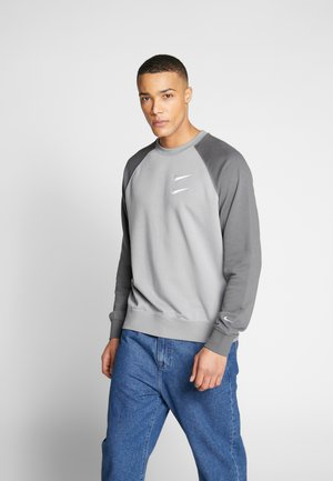 Sweatshirt - particle grey/white