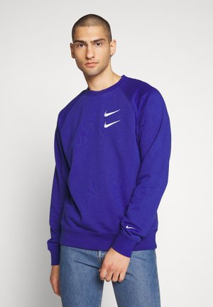 Collegepaita - deep royal blue