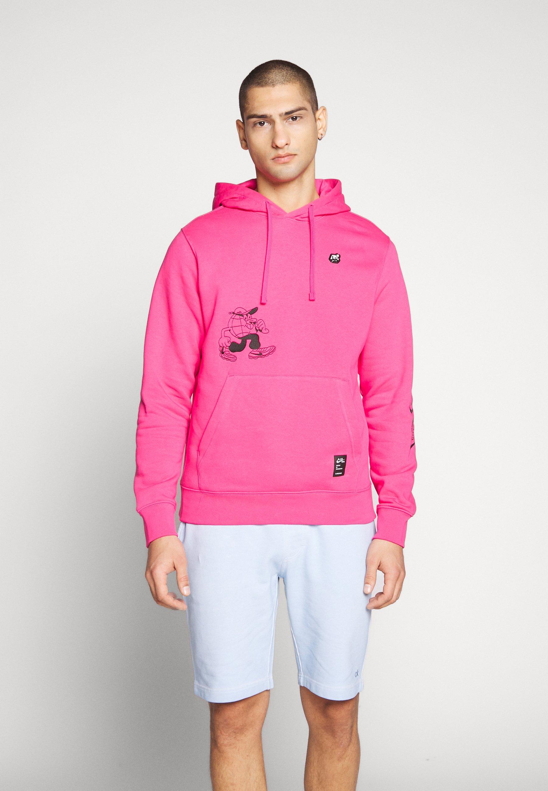 Nike Sportswear Bluza z kapturem - watermelon