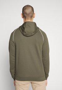 Nike Sportswear - HOODIE - Hoodie - cargo khaki/white - 2