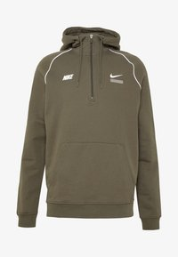 Nike Sportswear - HOODIE - Hoodie - cargo khaki/white - 3