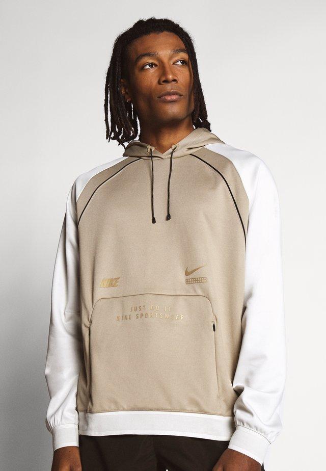 HOODIE - Långärmad tröja - khaki/light bone
