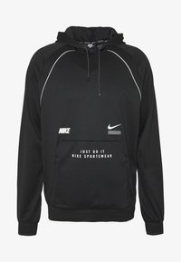 Nike Sportswear - HOODIE - Bluzka z długim rękawem - black - 5