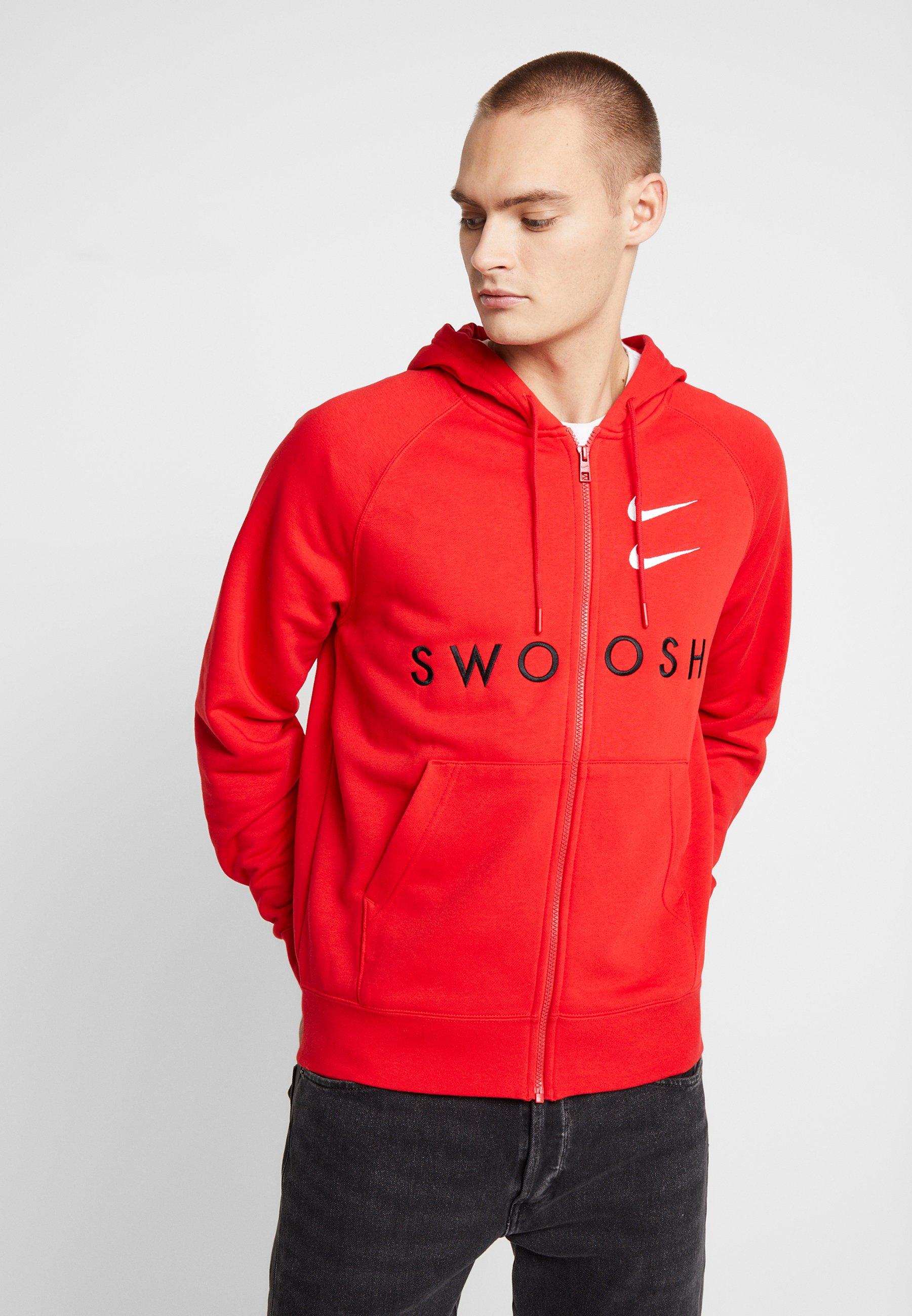 Nike Sportswear veste en sweat zippée university redblack