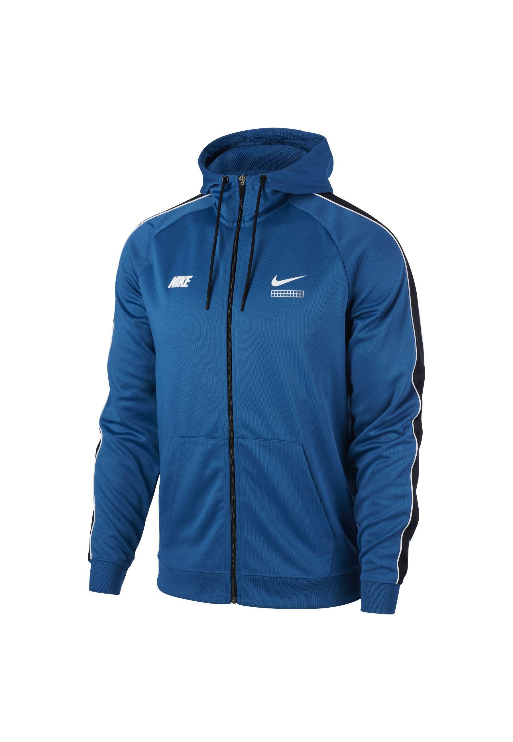 Nike Sportswear M NSW DNA PK FZ - Bluza rozpinana - industrial blue/black/white