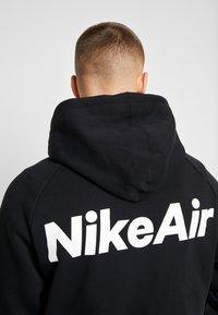 Nike Sportswear - HOODIE  - Zip-up hoodie - black/white/red - 4
