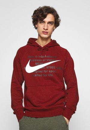 HOODIE - Sweat à capuche - team red